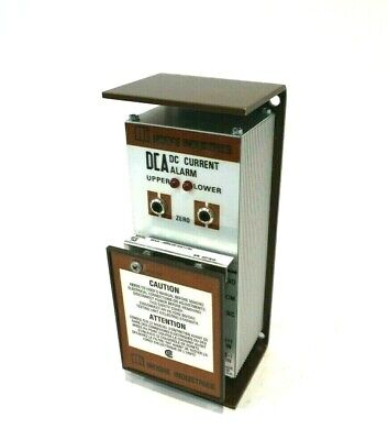 New Moore Industries Dca/4-20Ma/dx1X3/117Ac Dc Current Alarm Dca420Madx1X3117Ac