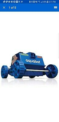 AQUABOT POOL ROVER Junior/Jr. Above Ground Swimming Pool Robot Cleaner |  APRVJR