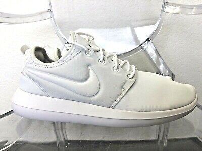 2dabfe26d708 NIKE Womens Roshe Two White White Pure Platinum Running Shoe 11 844931 100