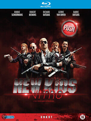 New Kids Nitro NEW Cult Blu-Ray Disc Steffen Haars Huub Smit Tim Haars Dutch