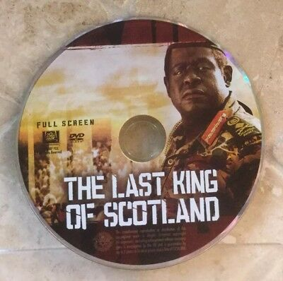 👀L@@K❗️The Last King of Scotland (Full Frame) DISC ONLY ~ MINT & FAST SHIP❗️
