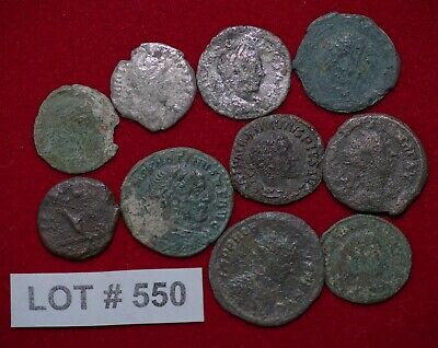 Roman Empire Lot#550 Constantine and other 10 Coins Affordable for Beginners