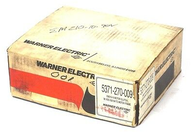 New Warner Electric 5371-270-009 Motor Clutch Em210-10 , 5371270009