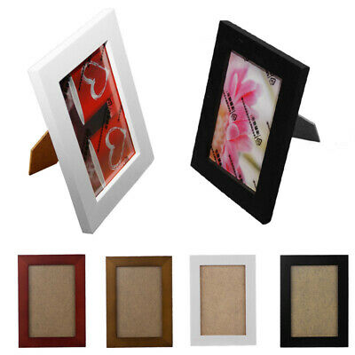 Wooden 4x6/5x7/8x10 Wall Picture Family Photo Frame Black Love White Baby