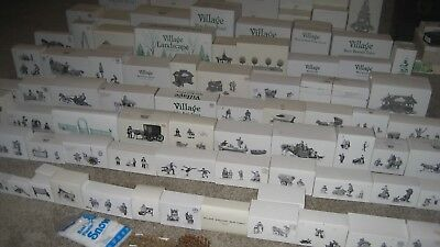 Deptartment 56 New England Village 200+ Piece Collection