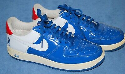 wholesale dealer d479e 176f0 2005 Nike Air Force 1 Sheed Low Rasheed Wallace 306347-411 Blue wh