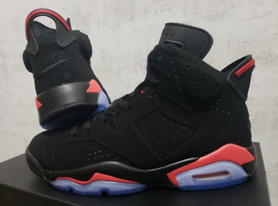cc0d282f4d3f Air Jordan 6 Black Infrared Retro VI OG 384664 060 US Size (men s)