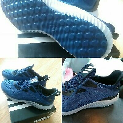 774153c6627f9 NEW WITHOUT BOX Men s Adidas Alphabounce 1 m Gray   White Running ...