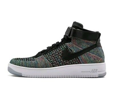 brand new df8dd e1af4 NIKE Air Force 1 Ultra Flyknit Mid Multi color 2.0 817420 601 Size 11.5