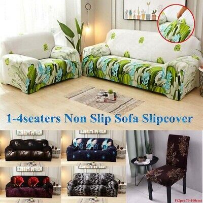 1-4seaters Cotton Sofa Slipcover All-inclusive Furniture Stretchy Sofa Covers