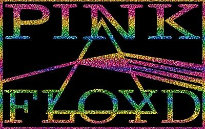 Pink Floyd Holographic Rainbow Vinyl Decal Sticker - Home Car Window Laptop