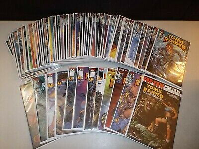 Tomb Raider #0, 1-50 (Complete Series 1999 series) w/ variants Lot of 67 DF Gold