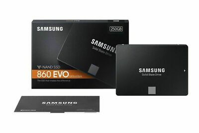 250GB Samsung 860 EVO SSD SATA III Internal Solid State Drive 2.5'' F/ PC Laptop