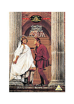 A Funny Thing Happened on the Way to the Forum NEW (DVD Widescreen) Zero Mostel