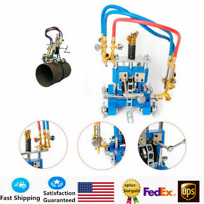 CG211Y Manual Pipe Cutting Beveling Machine Torch Track Cutter High Quality NEW