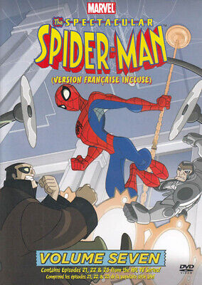 The Spectacular Spider-Man: Vol. 7 (Bilingual) *new Dvd