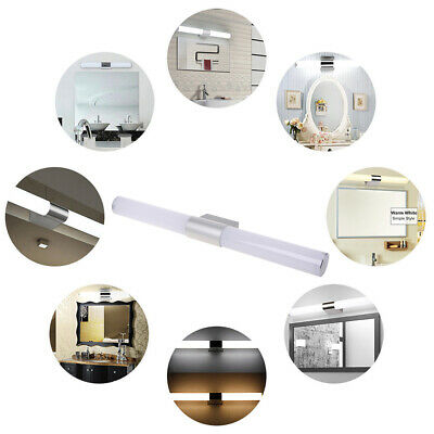 LED Mirror Front Light Modern Makeup Wall Lamp Bathroom Toilet Fixture