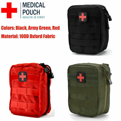 Waterproof Tactical First Aid Kit Bag Emergency Medical Travel Survival Rescue.