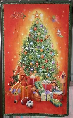 Christmas Theme Wall Hanging Quilts with hand sewn embellishments.
