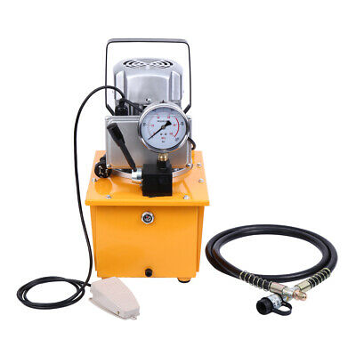 Electric Driven Hydraulic Pump 10000 PSI 70Mpa Single Acting Manual Valve 0.75KW