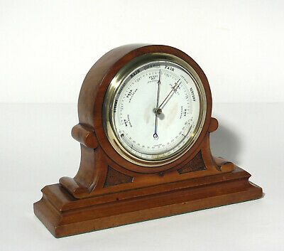Antique Desk Top Barometer / Thermometer