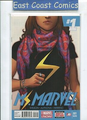 MS MARVEL #1 - 1st KAMALA KHAN - 2nd PRINT - ALL NEW MARVEL NOW