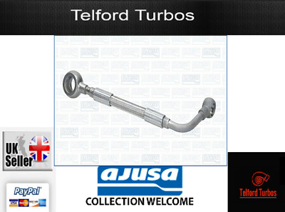 Genuine AJUSA OEM Replacement Turbo Oil Feed Pipe Line OP10009 FORD