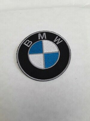 patch BMW broder et thermocollant , 7.5cm