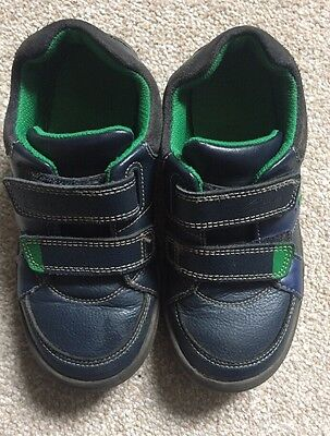 43ad78a236a Clarks Boys Size 11 F Light Up Shoes Comfortable Kids Blue