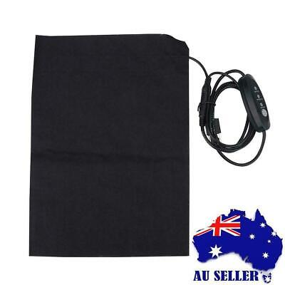 Electric Heating Pad Heated Warming USB Heating Pad for Outdoor & Indoor New.