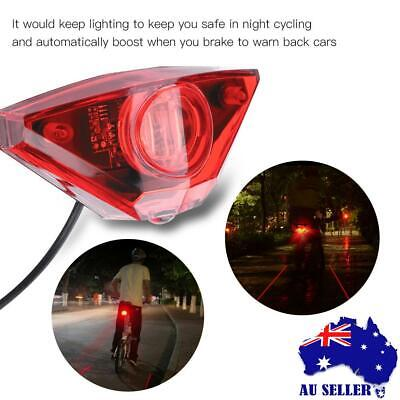 Waterproof Tail light Scooter E-bike Turn Signal Rear Lamp Electric Bicycle Lamp