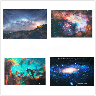 "24''x36"" Andromeda Galaxy Stars Universe Space Art Canvas Silk Poster Wall Decor"