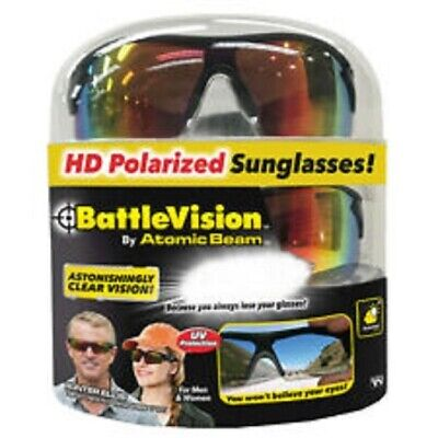 b7f92575e5 BattleVision HD Polarized Sunglasses Battle Vision Brand New Sealed 2 Pair  Pack