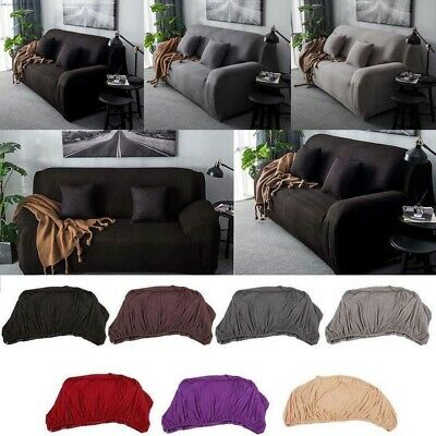 1-4 Seats Universal Sofa Couch Cover Corner Stretch Slipcover Easy Fit Slipcover