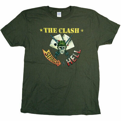 The Clash T Shirt - Straight To Hell 100% Official Joe Strummer Punk Full Colour