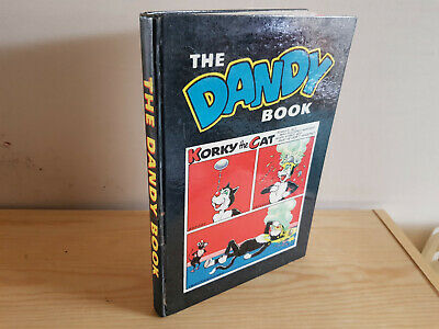 THE DANDY BOOK 1961 vintage comic annual - VG