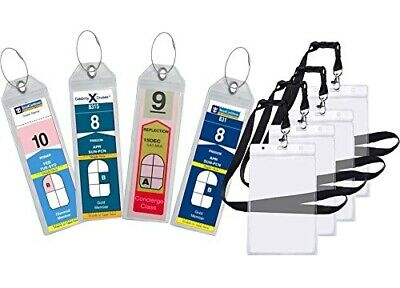 8 Pack Royal Caribbean Celebrity Cruise Luggage Tag Holders Zip Seal E Tags