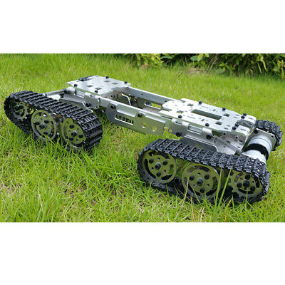 Robot Tank Car Chassis Metal Platform 6-12V Tracked Crawler for Arduino DIY
