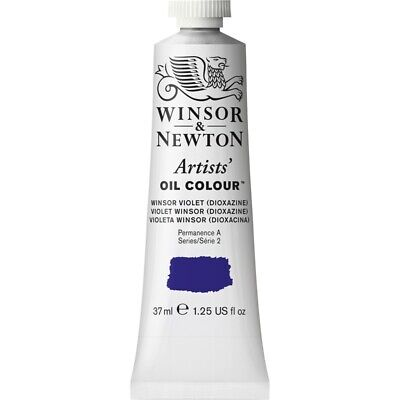 Winsor and Newton Artists' Oil Colour 37ml Tubes