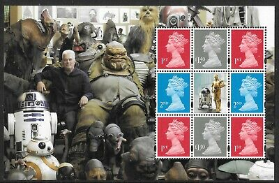Machin pane DP523 from DY23 / DB5(75) 2017 Star Wars Royal Mail Prestige Booklet