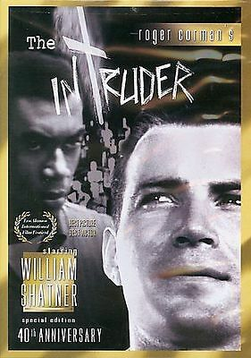 The Intruder (40th Anniversary Edition) DVD, William F. Nolan,George Clayton Joh