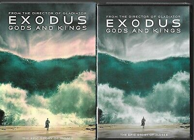 Exodus: Gods and Kings  (2015 DVD, Factory Sealed with Slip cover)