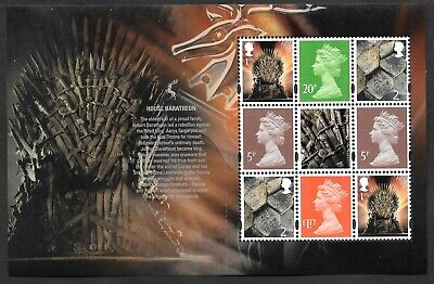 Machin pane DP530 from DY24 / DB5(76) 2018 Game of Thrones Prestige Booklet