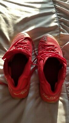 half off 8bf4b d513a JORDAN melo m12 12 size 10.5 USED EXCELLENT red gum barely WORN