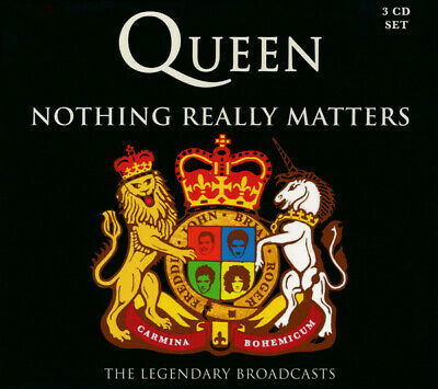 Queen ‎– Nothing Really Matters - The Legendary Broadcasts CD  SEALED SIGILLATO
