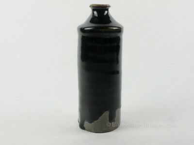 Certified Antique Shanxi Chinese Porcelain pottery wine jar, narrow form OCT7
