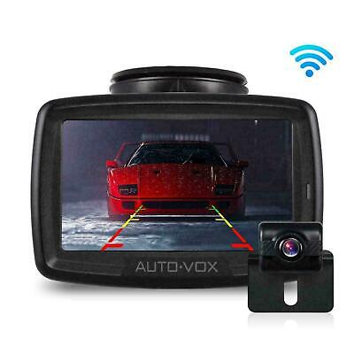 AUTO-VOX W2 Digital Wireless Reversing Camera Kit with Built-in Transmitter IP68