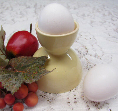 LuRay Pastels dinnerware by Taylor Smith & Taylor Egg Cup Persian Cream (yellow)