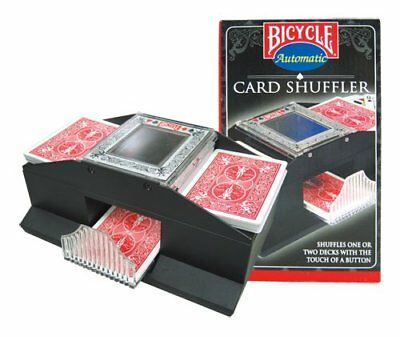 Bicycle Playing Card Automatic Shuffler Battery Operated (cards not included)