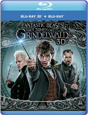 Fantastic Beasts: The Crimes of Grindelwald [New Blu-ray] Manufactured On Dema